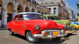 Kuba - urok starych aut