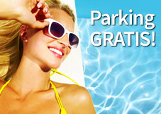 Parking przy lotnisku gratis do ofert Exim Tours!