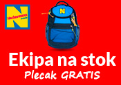 Ekipa na stok - plecak gratis