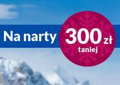 Okazja - wyjazd narciarski 300 zł taniej