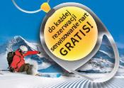 Do każdej rezerwacji serwisowanie nart GRATIS!