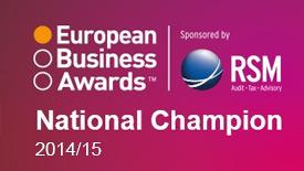 European Business Awards - wyróżnienie w kategorii Obsługa Klienta