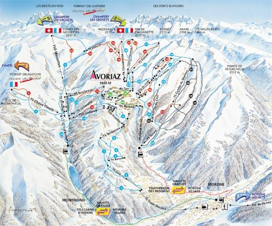 Avoriaz banki i bankomaty narty i snowboard noclegi apartamenty kwatery i trasy - Avoriaz office de tourisme ...