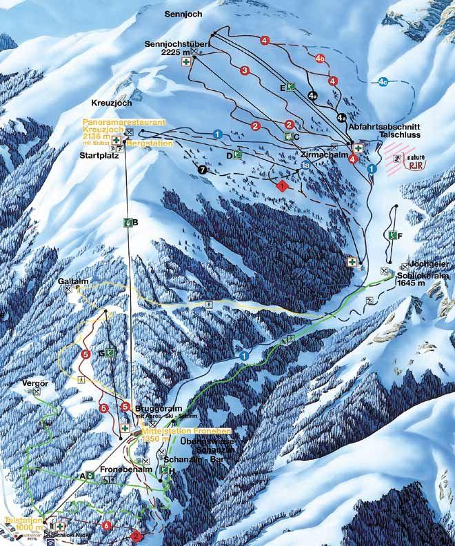 Fulpmes Austria  City pictures : Przewodnik Fulpmes, Austria zimą narty, snowboard, noclegi, trasy
